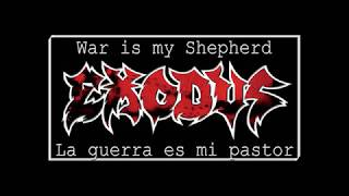 Exodus - War Is My Shepherd + Lyrics + Sub Esp