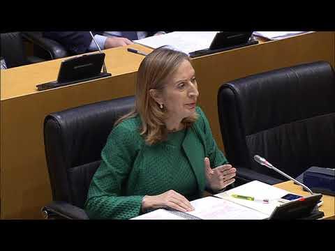 Ana Pastor en la Comisión para la Reconstrucción Social y Económica de España