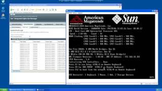 Sun Fire X4600 Server ILOM & BIOS
