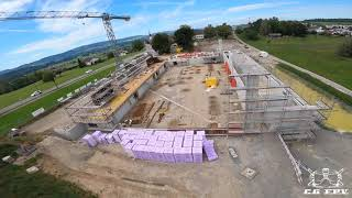 MORE WALLS - Baustelle Dreifachhalle Gossau ZH Episode 24 - #FPV cinematic freestyle
