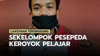 Lantaran Tersinggung Sekelompok Pesepeda Lakukan Pengeroyokan terhadap Seorang Pelajar di Mojokerto