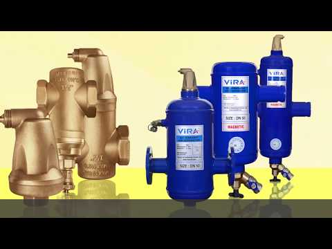 ViraVent Automatic Airvent and ViraClean Dirt Separator
