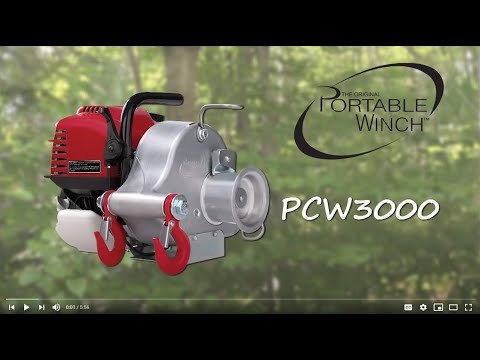 Portable Winch PCW 3000