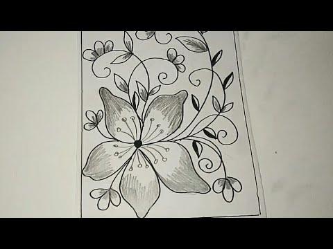 Gambar Sketsa Motif Batik Bunga Sederhana Architecture Archive