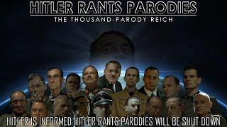 Hitler Is Informed Hitler Rants Parodies Will Be Shut Down