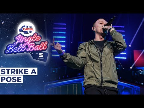 Aitch - Strike a Pose feat Young T & Bugsey (Live at Capital's Jingle Bell Ball 2019) | Capital