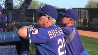 Jeff Burroughs Feature For Rangers Insider