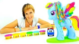 Развивающее видео - Весёлая Школа с ПлейДо и Литл пони