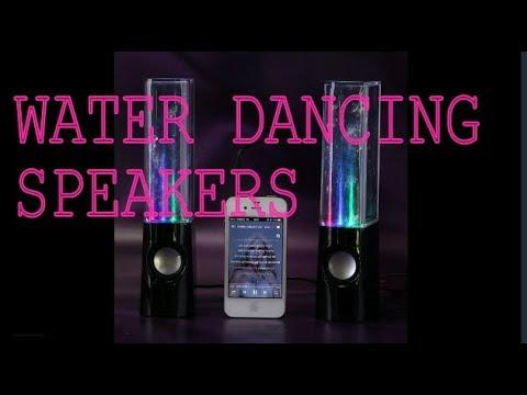 AMB Water Dancing Speakers - Review