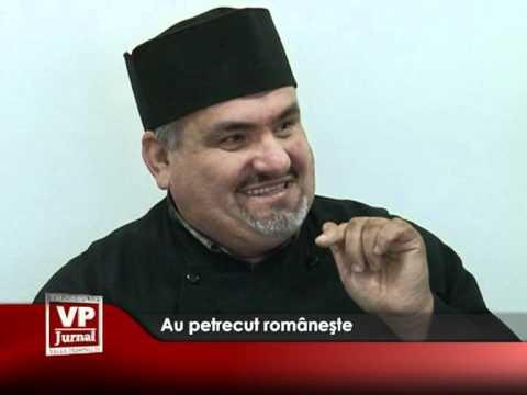 Au petrecut româneşte
