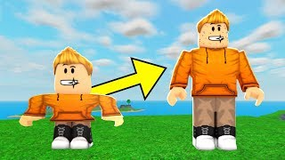 GROWING INTO A TEENAGER IN ROBLOX