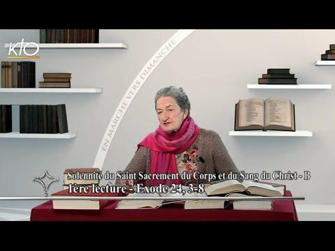 Solennité du Saint Sacrement du Corps et du Sang du Christ B - 1re lecture