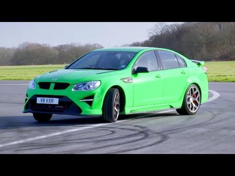 Chris Harris Lap: Vauxhall VXR8 GTS-R   Extra Gear   BBC