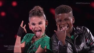 Ariana Greenblatt & Artyon Celestine - Dancing With The Stars Juniors (DWTS Juniors) Episode 2