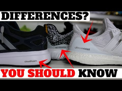 Best Shoe Cushion? Adidas Boost vs Bounce vs CloudFoam Comparison!