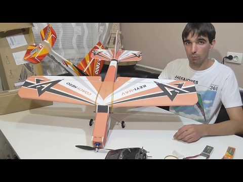 KEYI-UAV Hero - сборка самолета тренера