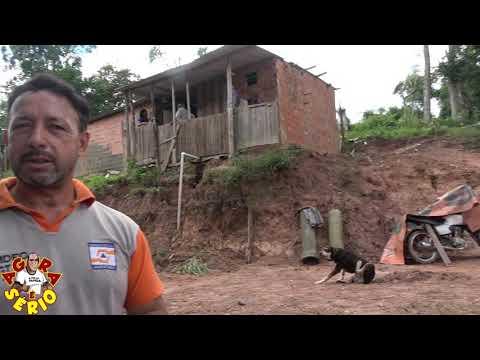 Marcos da Defesa Civil promete tomar providências junto com a secretária de meio ambiente sobre a Terraplenagem.