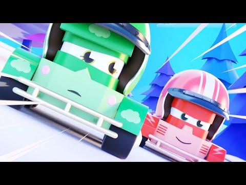 圣诞节特辑-大脚卡车城圣诞树 - 大脚卡车镇 Monster Town – 汽车城番外篇儿童卡通 Chinese Madarin Cars Cartoon for Kids