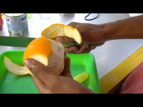 Video Jakarta Street Food 365 Sunkist Orange Juice By Kaisar Fruit Juice Jus Jeruk Sunkist