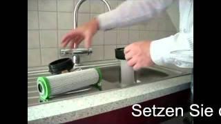 preview picture of video 'Filtertausch CARBONIT VARIO Untertisch Wasserfilter'
