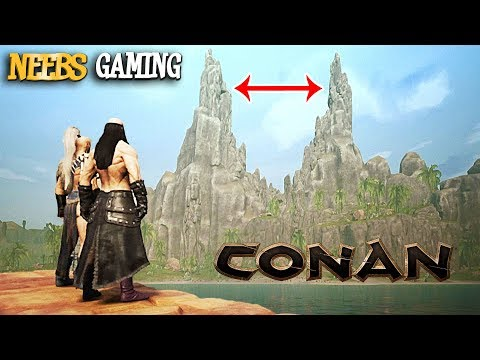 TIP-to-TIP Bridge! - Conan Exiles