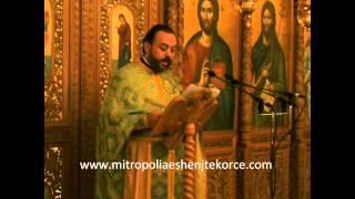 preview picture of video 'Predikim mbi Lartësimin e Kryqit nga Atë Mihal Sonellari 14 09 2014'