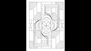 Look Inside: Creative Haven Prismatic Designs Coloring Book