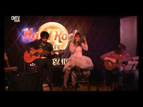 Fabiana Cantilo video Bailarines de cartón - Hard Rock Café - Junio 2015