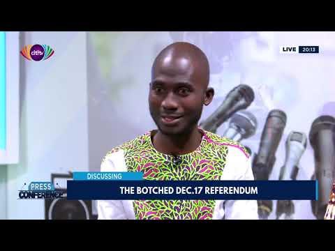 The botched December 17 referendum | Press Conference