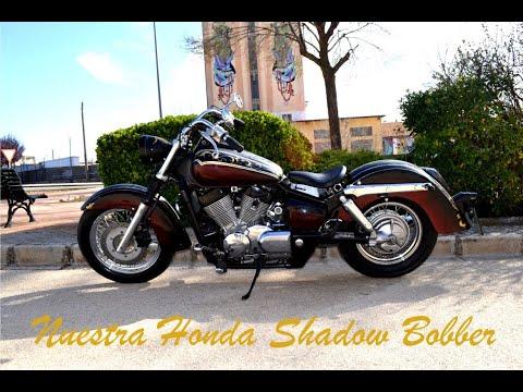 Honda Shadow 750cc customb bobber