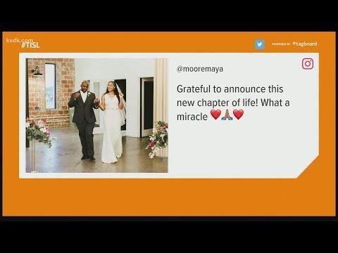 Maya Moore marries Jonathan Irons, Missouri man she helped free from prison