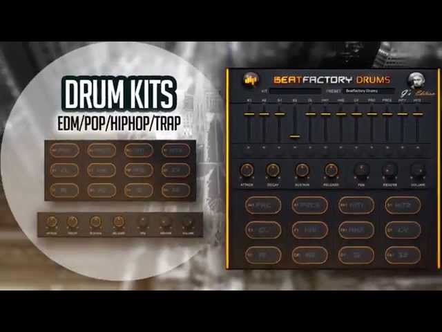 10 FREE DRUM KITS - BeatSkillz - FREE Drum VST / AU Plugin