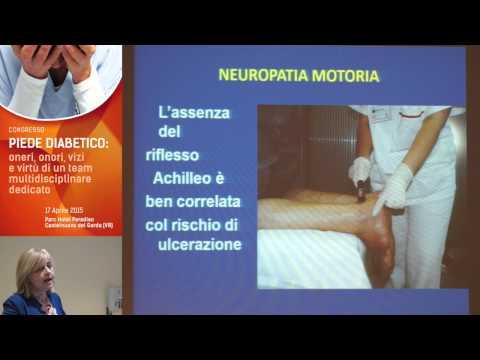 Il diabete il trattamento delle lesioni del piede