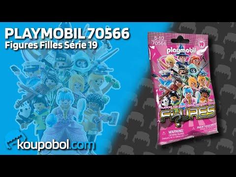 Vidéo PLAYMOBIL Figures 70566 : Figures Filles - Série 19