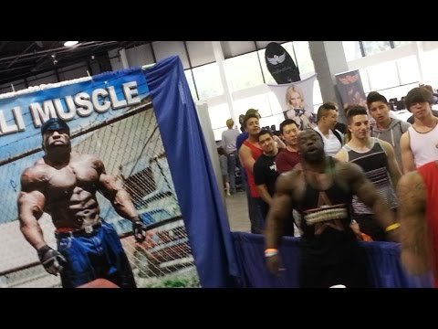 Kali Muscle First Girl Ever To Receive Slap City Gym Bro Fitness