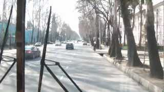 preview picture of video '[Tajik] On Rudaki Street, north Dushanbe 두샨베 북쪽 시내 루다키 거리 주변'