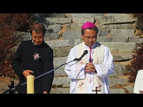 이재룡 시몬신부님 한국성토마스연구소 축성식