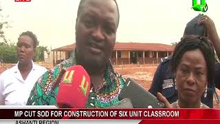 Mp Cut Sod For Construction Of Six Unit Classroom
