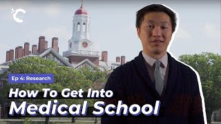 youtube video thumbnail - How to Get Into Medical School Ep. 4: Research
