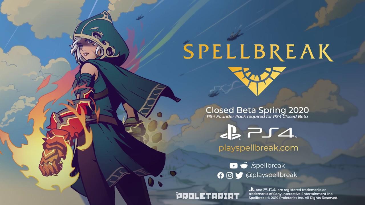 Proletariat porta Spellbreak su PS4