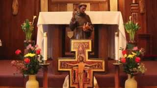 Transitus Reflection by Br. Augusto