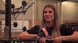 Kendra Pennings gaat fysiek zware uitdaging aan in tv-programma