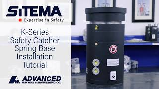 Sitema K-Series Safety Catcher Spring Base Installation Tutorial