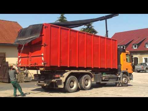 Shur-Co Hytower Planensystem aufplanen Donovan TEIL 1/2 Dr. THIEL® Planen Container Rollcontainer