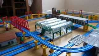 preview picture of video 'プラレール Tomy Thomas - Plarail Trackmaster Belle in Beckenham [HD]'