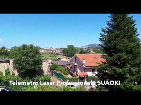 RECENSIONE Telemetro Laser Professionale SUAOKI LW 600 PRO