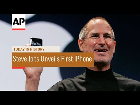 Steve Jobs Unveils First iPhone - 2007 | Today in History | 9 Jan 17