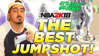 TYCENO REVEALS THE BEST JUMPSHOT in NBA2K18!