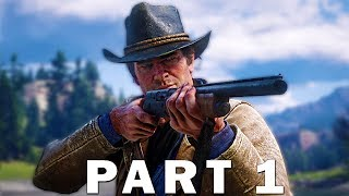 Red Dead Redemption 2 Walkthrough Gameplay Part 1 - Story Introduction [RDR2] PS4 Pro