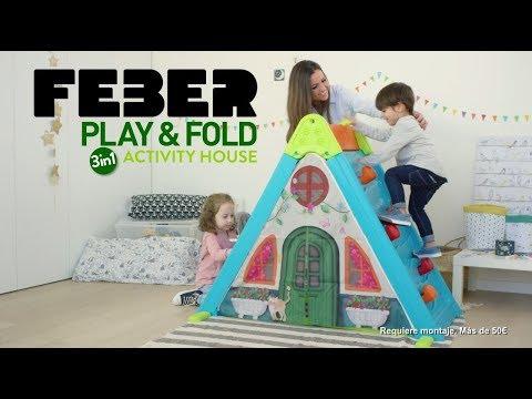 Casita infantil  Play & Fold 3 en 1 Feber